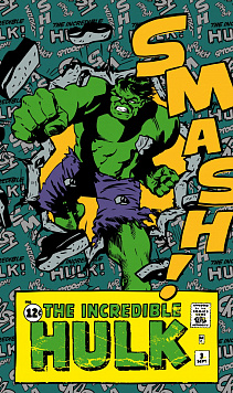 Komar VD-010 (Marvel Comics The Incredible Hulk Smash)