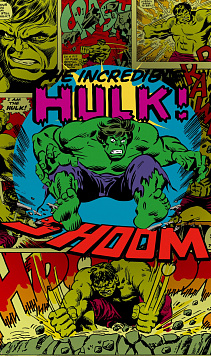 Komar VD-011 (Marvel Comics The Incredible Hulk Shoom)