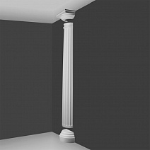 Orac Set Half Column Tuscan fluted low